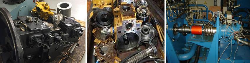 Ремонт гидронасосов и гидромоторов производится по следующей схеме: